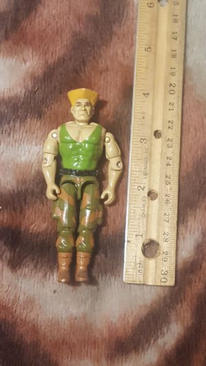 Vintage 1980s GI Joe Street Fighter guile action figure for Sale in Hayward, CA