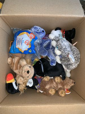 Assorted Box Full of Ty Beanie Babies! FIRM PRICE! for Sale in Davenport, FL