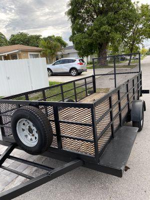 5x13 heavy duty utility trailer for Sale in Hollywood, FL