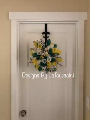 Green Bay Packers Inspired Spiral Wreath for Sale in Tacoma, WA