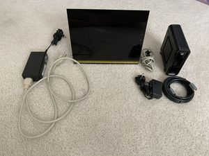 Netgear R3600 wifi Router and Cable Modem for Sale in Moreno Valley, CA
