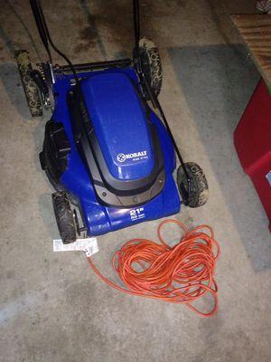Kobalt km210 mower corded for Sale in Katy, TX