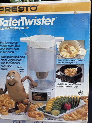 presto tater twister for Sale in Sicklerville, NJ