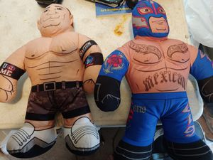 Wwe plushis for Sale in Houston, TX