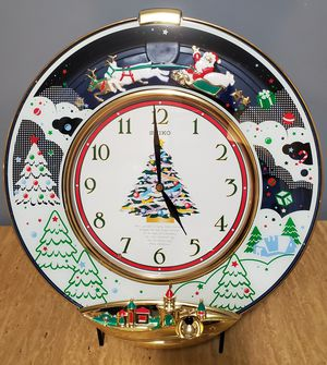 Seiko Melodies in Motion Wall Clock Christmas Edition - Very Rare! for Sale in Salem, OR