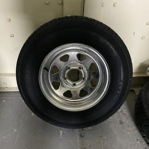 New205-75-14inch trailer tire and rim. $90//each for Sale in Fort Lauderdale, FL