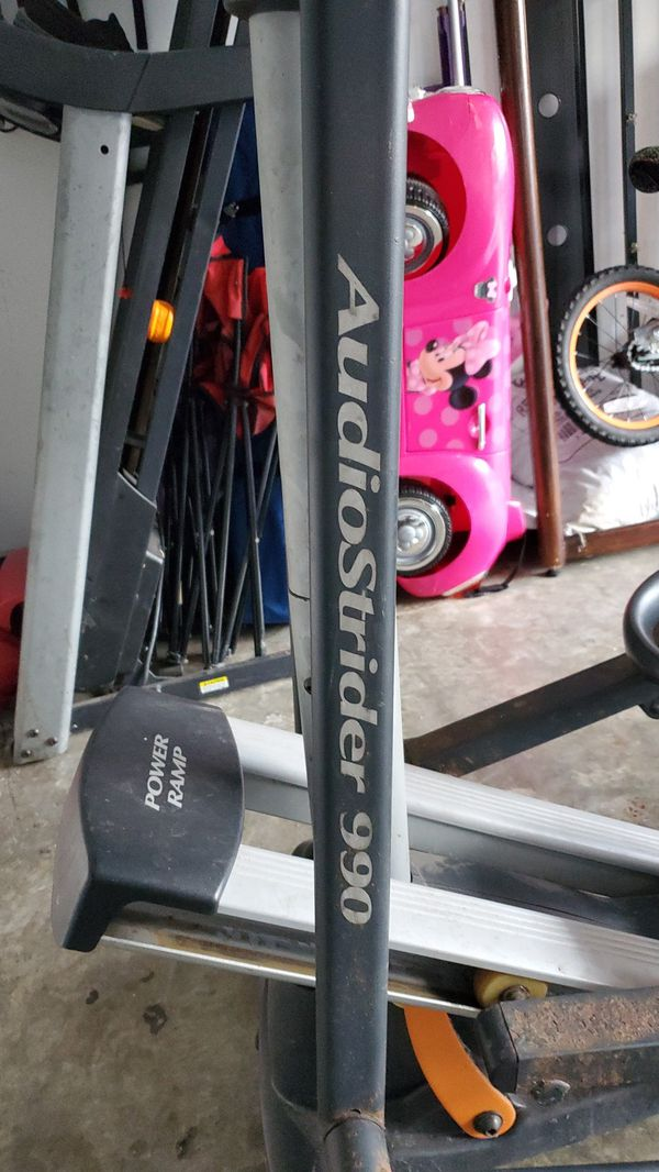 Nordic track elliptical Power Ramp