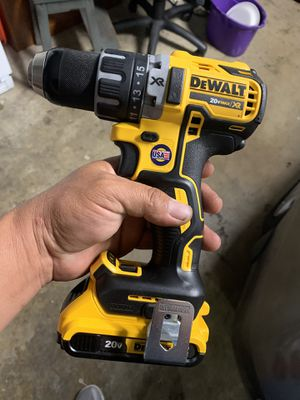 Dewalt xr brushless drill and battery new never used $100 firm price for Sale in Sacramento, CA