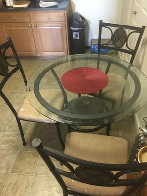 Kitchen table with 3 chairs for Sale in Falls Church, VA