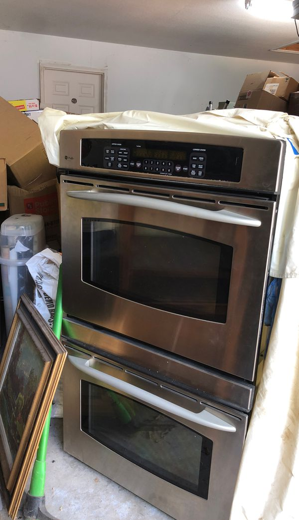 GE profile double electric ovens FREE