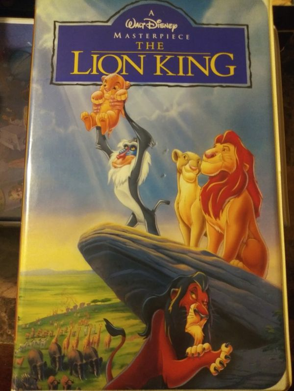 Classic vhs tapes