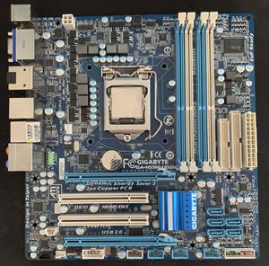 Gigabyte Motherboard with Intel CPU for Sale in Los Angeles, CA