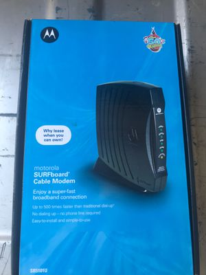 Motorola Surfboard Cable Modem for Sale in Redding, CA