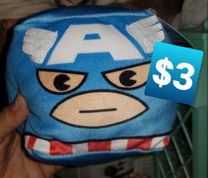 Captain America cube plush for Sale in Las Vegas, NV