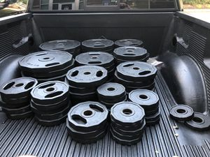 Iron Grip Barbell Plates for Sale in Cumming, GA