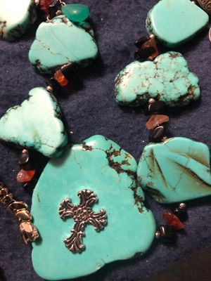 Here is a handmade turquoise for Sale in Sterling, KS