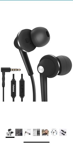 Brand new headphones earbuds with mic for Sale in Anaheim, CA