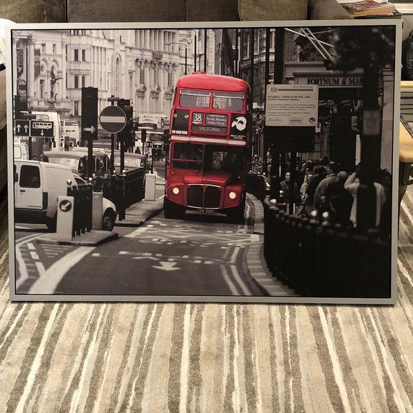 London Bus Photo / Art Work