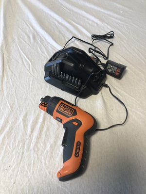Black & Decker cordless drill for Sale in Cedar Falls, IA