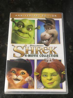 Shrek 4 Movie Collection DVD for Sale in Corona, CA