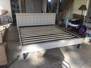 DeCoro Mornington King Upholstered Platform Bed Frame (0079) for Sale in Gilbert, AZ