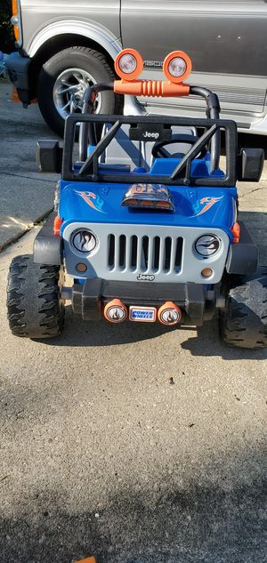 Power wheels jeep for Sale in Glendale Heights, IL