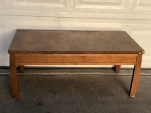 Canadian Made Solid Coffee Table / TV Stand for Sale in Fresno, CA