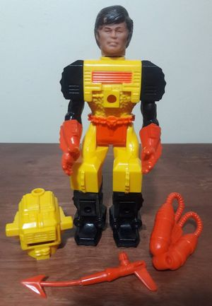 Mantech Vintage Action Figure 80s Toy remco for Sale in Marietta, GA
