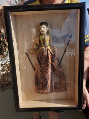 Your choice of either Balinese puppet under glass sold separately for 75 each for Sale in Dunedin, FL
