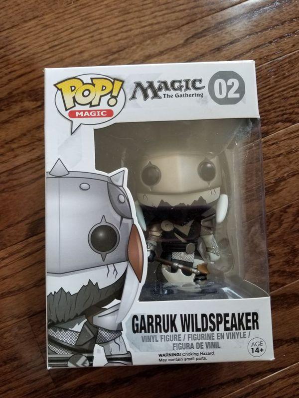 Funko Pop Magic the Gathering Garruk Wildspeaker