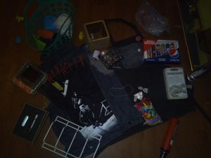 Cleaning out stuff!! Crafts, Dominos, Apron, cubes, etc for Sale in City of Industry, CA