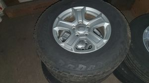 Jeep gladiator /wrangler set of wheel for Sale in Statesville, NC