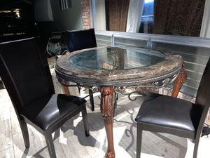 Marble dinning set for Sale in Pompano Beach, FL