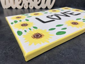 love sunflower painting for Sale in Mission Viejo, CA
