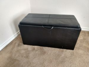 Storage ottoman for Sale in Fort Worth, TX