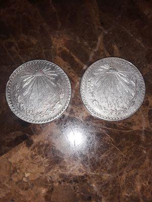 Pesos mexicanos 70% plata. 1922. 1932 for Sale in San Leandro, CA