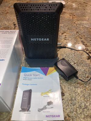 Netgear High Speed Cable Modem for Sale in Phoenix, AZ
