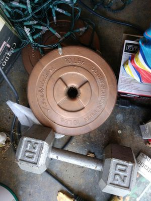 Weights for sale 10 lbs. $5 each for Sale in Cypress, CA