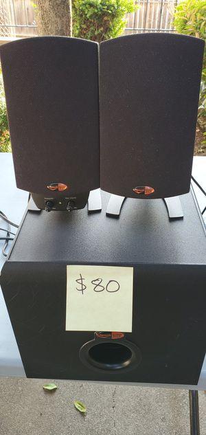Klipsch promedia 2.1 speakers for Sale in San Diego, CA