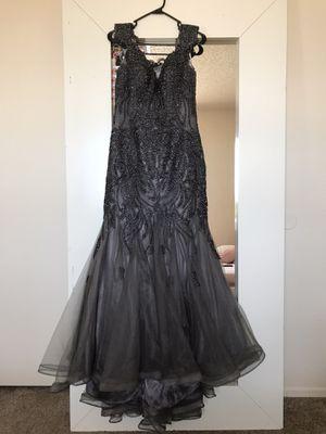 ELEGANT DARK GREY DRESS for Sale in Las Vegas, NV