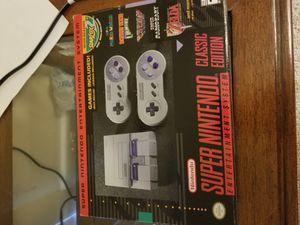 Super Nintendo classic edition for Sale in Marietta, GA