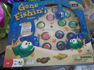 Gone fishing toddler kids game new for Sale in Davenport, FL