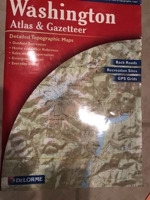 Washington Atlas & Gazetteer Map for Sale in Vienna, VA