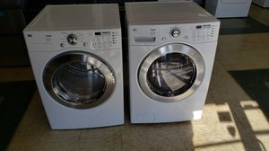 LG washer and gas dryer clean for Sale in Aurora, IL