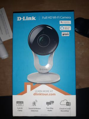 Brand New D-Link 1080p Wifi Security Camera for Sale in Bryant, AR