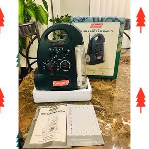 Coleman AM/FM Mini Lantern Radio for Sale in Spring Hill, FL