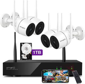 【Brand New】4 1080p WiFi Security Cameras ,Selling at $340 now at $250 for Sale in Queens, NY