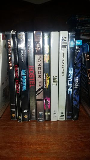 12 dvd movies for 20 bucks for Sale in Spring, TX