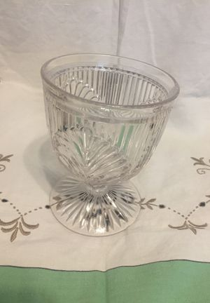 Antique cut glass footed candy dish for Sale in Casa Grande, AZ