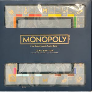 Monopoly Luxe Luxury Collectible ~Blue Gold Limited Edition ~ NEVER OPENED for Sale in Miami, FL